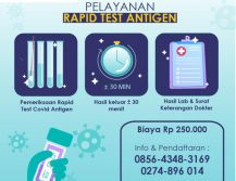 Layanan Rapid Test Antigen